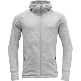 Devold Nibba Hooded Jacket Men grey melange